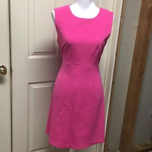 Brand new hot pink shift dress by DVF